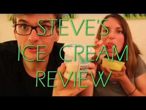 Steve's Ice Creams Wildflower Honey Pistachio Review