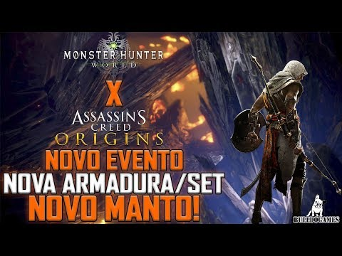 Monster Hunter World - NOVO EVENTO, NOVA ARMADURA E NOVO MANTO ESTÃO CHEGANDO! thumbnail
