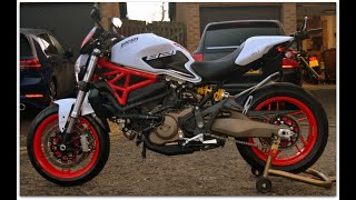 FOR SALE (NOW SOLD) Jun 2018 Ducati Monster 821 (ABS).  LIKE NEW! 2,500 miles. £6,500