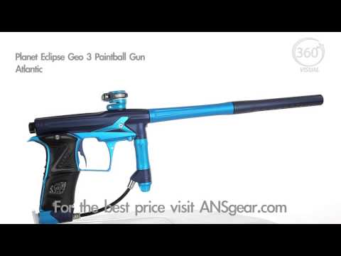 Planet Eclipse Geo 3 Paintball Gun - Atlantic - Visual 360