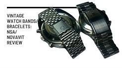 Vintage Watch Bands/Bracelets: NSA/Novavit Review (Part 1)