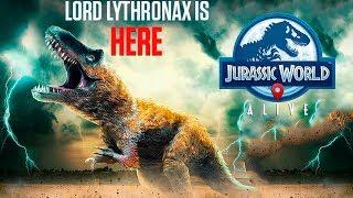 Лорд Литронакс - Победы и Поражения Jurassic World Alive