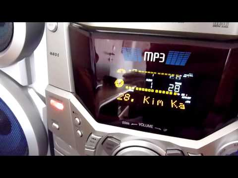Panasonic SC-AK410 MP3 search demo