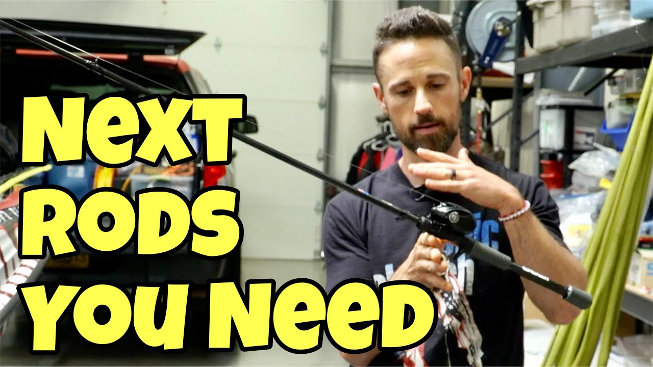 NEXT RODS YOU NEED FOR BASS FISHING