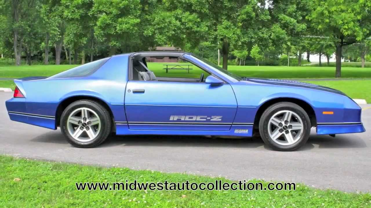 1987 Chevrolet Camaro Z28 IROC-Z **SOLD** - Video Test ...