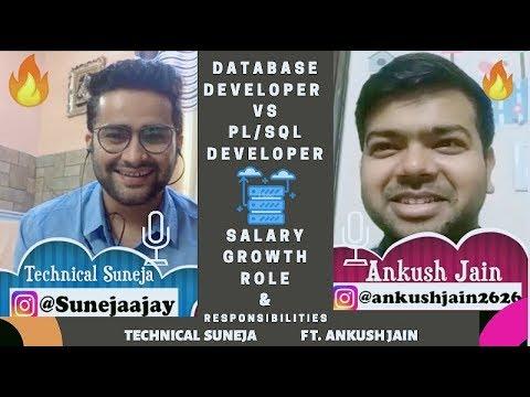 Download Database Developer vs PL/SQL Developer | Salary, Growth, Role & Responsibilities- ft. Ankush Jain 🔥