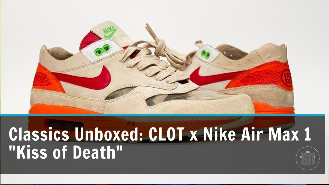3f55777a Classics Unboxed: CLOT Nike Air Max 1 Kiss of Death | SneakerNews.com