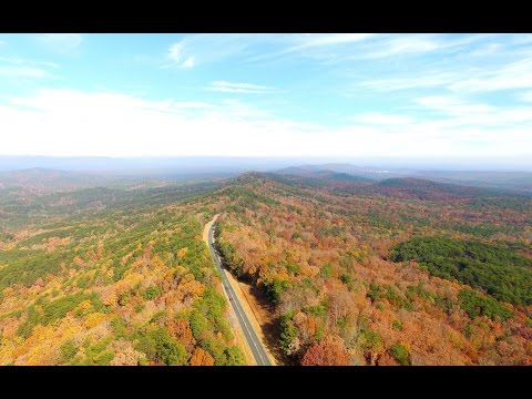 Drone 4K Ultra HD: Cheaha Mountain Alabama Highpoint | The Art of Travel Vlog