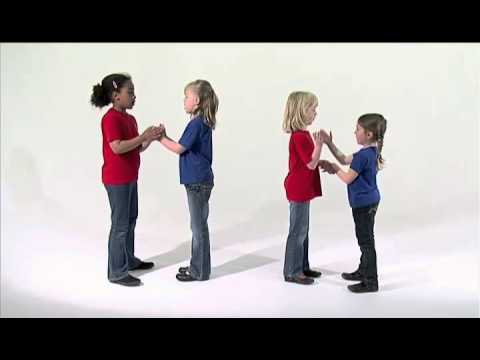 A B C  clapping game
