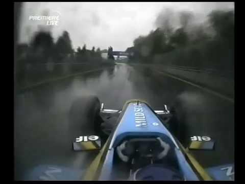 F1 Canadian GP Montreal 2003 - Friday Qualifying - Jarno Trulli Arm Wrestling Onboard!