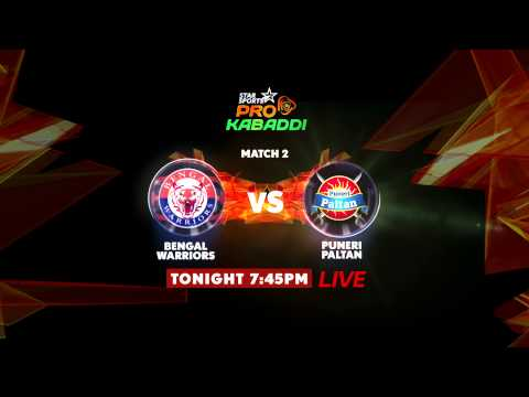Telugu Titans V/s Patna Pirates & Bengal Warriors V/s Puneri Paltan - 1st August