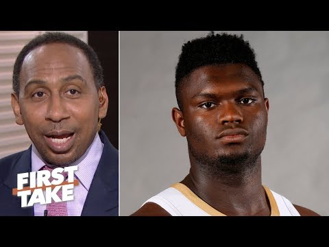 Stephen A. isn't rushing to crown Zion as Rookie of the Year | First Take