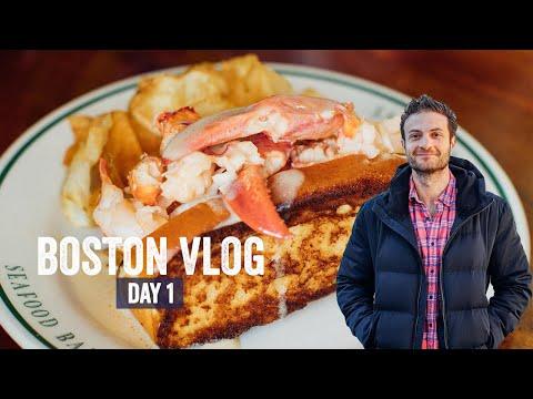 Best Food In Boston Travel Vlog Day 1 | Brunch Boys