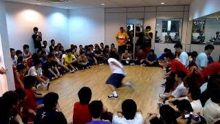 Rhythmusic DAnce Studio 3rd anniversary & opening 2 on 2 bboy jam bboy clipz judge showcase