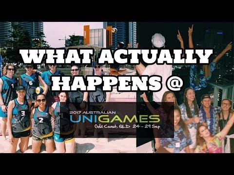 VLOG VI || GOLD COAST UNI GAMES 2017 GONE CAOS