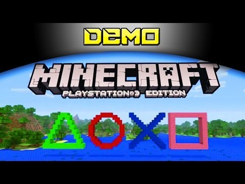 Minecraft Playstation 3 Edition - DEMO [PS3] PT-BR
