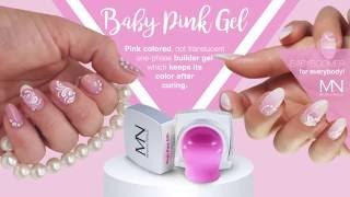 Introducing: Baby Pink UV Gel - Pink colored builder gel - BABYBOOMER effect