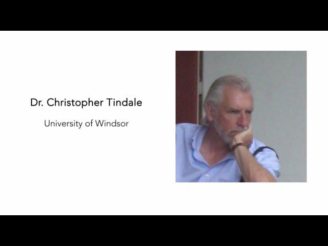 Episode 2 - Christopher Tindale - Rhetoric, Argumentation & the Pandemic