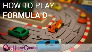 Formula D - How to Play