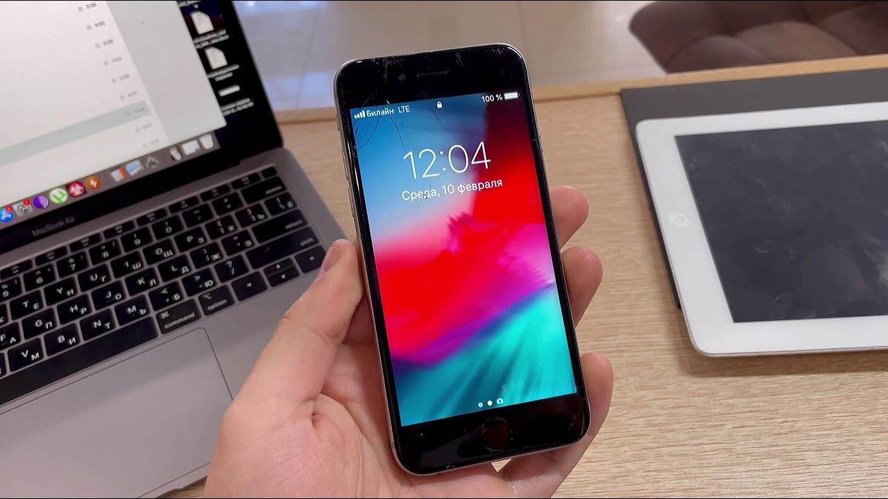 Заменить экран iPhone 6 в Тюмени