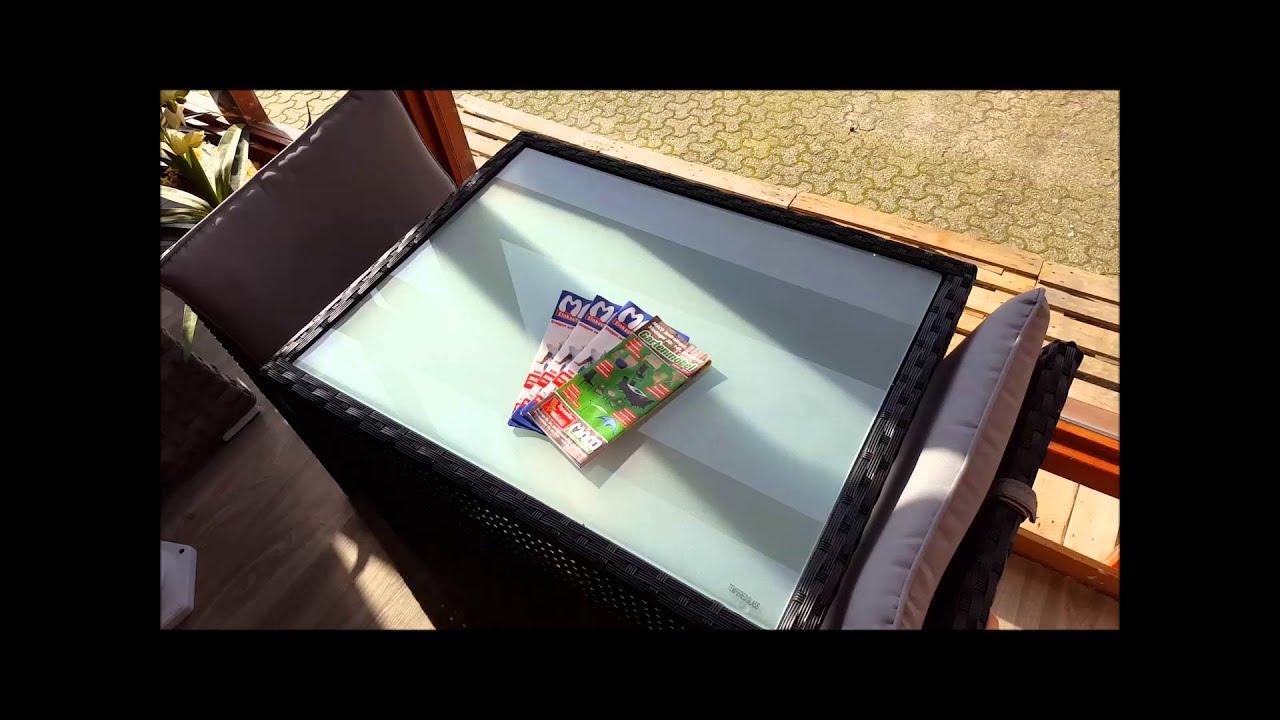 Balkonmobel Set Von Maco Shop De Platzsparende Box Stahl Pe Rattan
