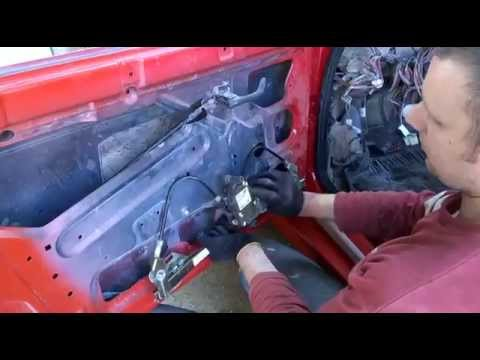 МИРа: Как установит передний стеклоподъмник ВАЗ2110