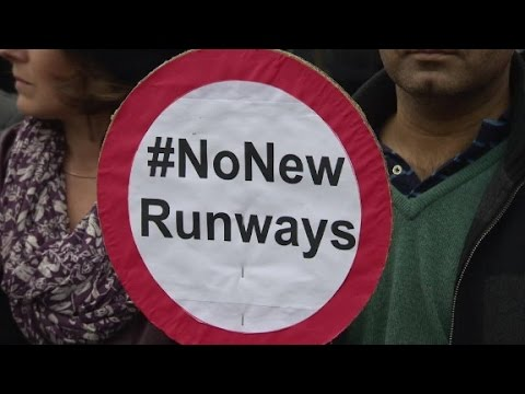Locals oppose new runway at Heathrow Airport