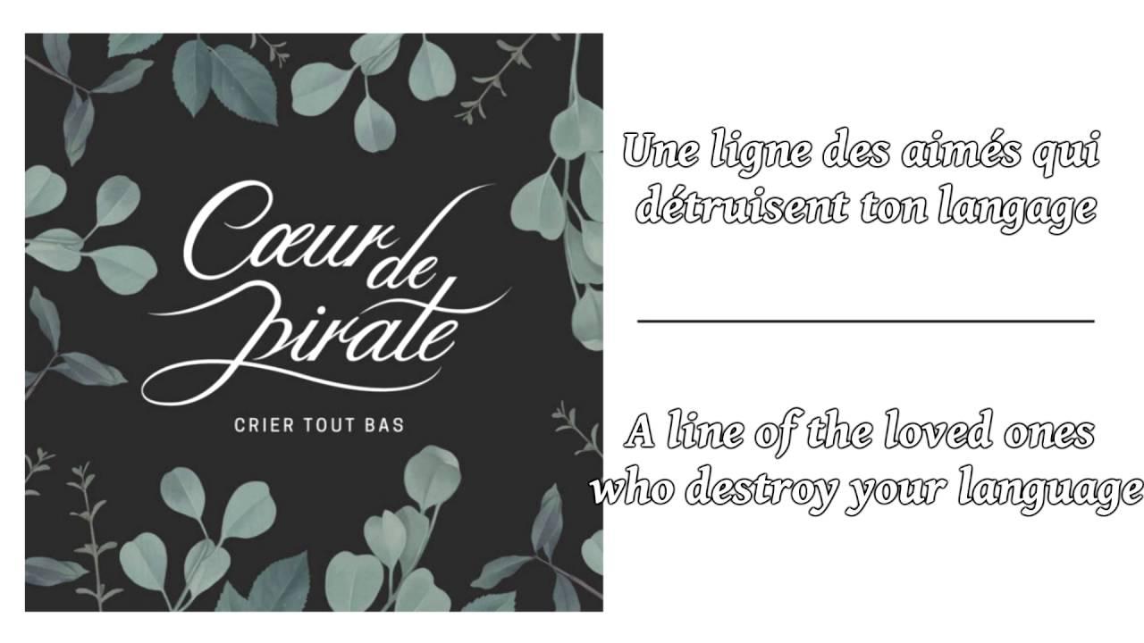 Crier tout bas lyrics english translation version 1 french stopboris Images