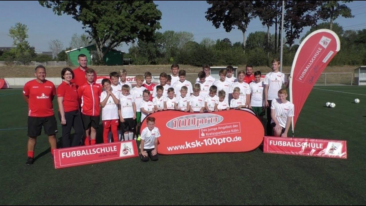 1 FC Köln und Kreissparkasse Köln treffen  die Pulheimer Fußballjugend