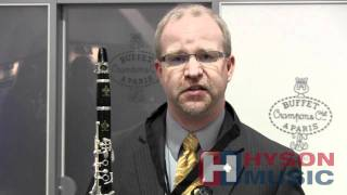 Hyson Music Presents The Buffet R13 Bb Professional Wood Clarinet - Namm 2012