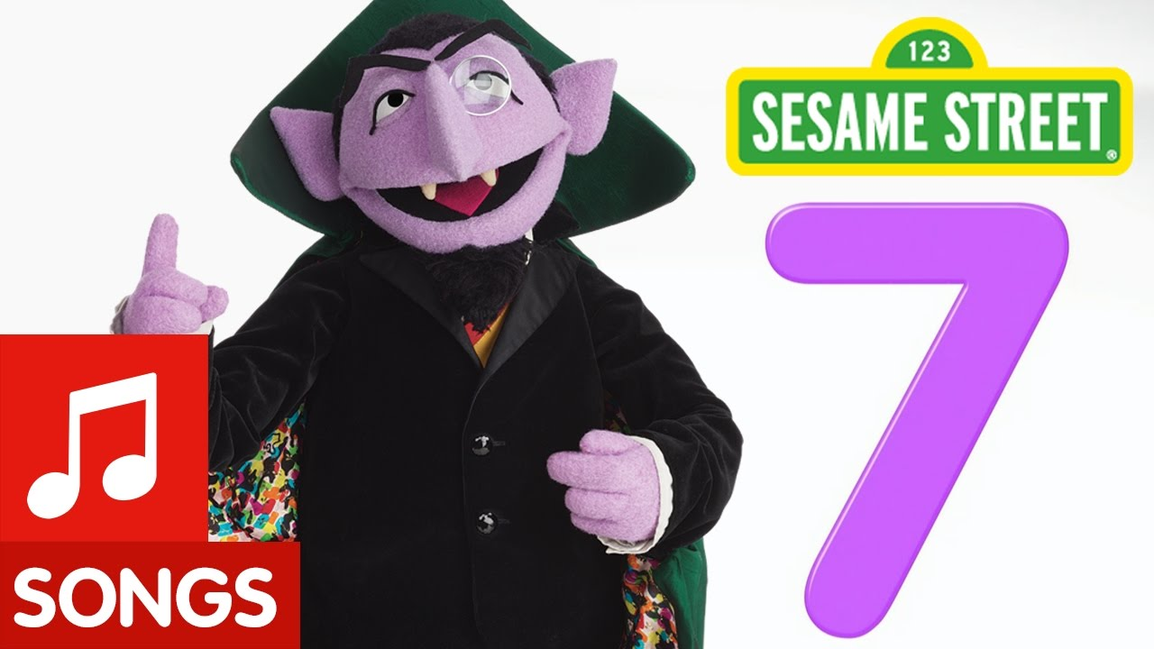 Sesame Street Number 7 Number Of The Day Song