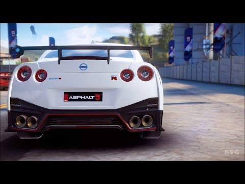 Asphalt 9: Legends - Nissan GT-R NiSMO - Test Drive Gameplay (PC HD) [1080p60FPS]