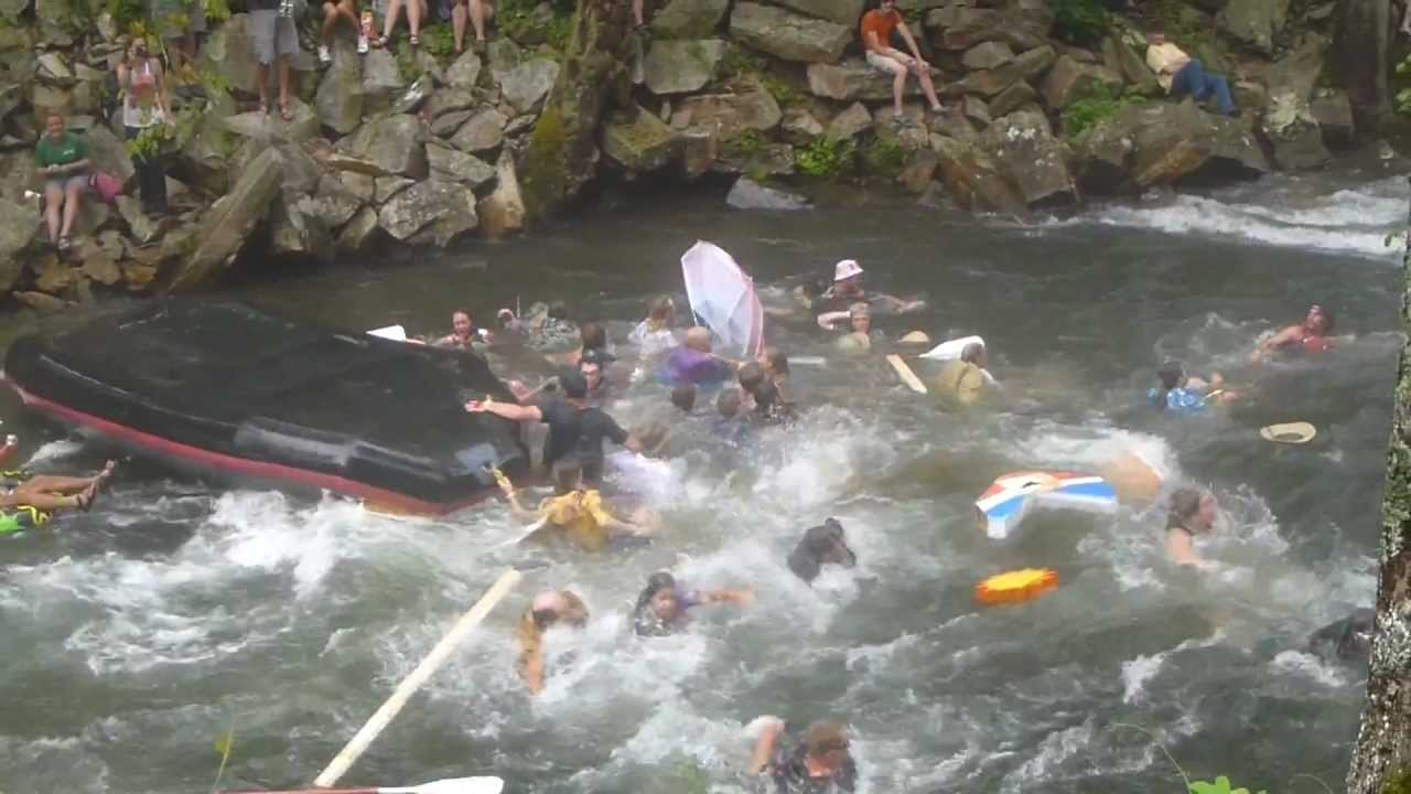 """The Smokies best fun! Rated """"One of the Best Outfitters on Earth"""" by National Geographic Adventure, NOC rafts the Upper and Lower Pigeon River. Trips for kids as young as three."""
