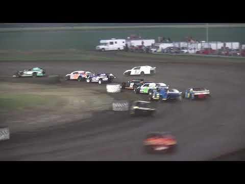IMCA Sport Mod Season Championship feature Benton County Speedway 8/11/19