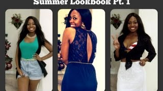 Summer Lookbook Pt. 1 | What to Wear to a Pool Party, BBQ, 4th of July, and Date Night