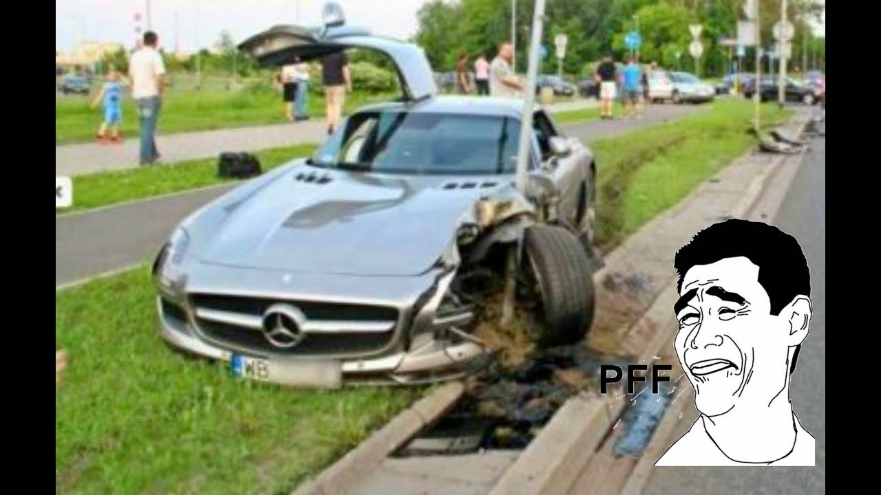 Ed Mercedes Benz Crash Compilation 2017 4 Best Accident Ml E Cl G S Gl