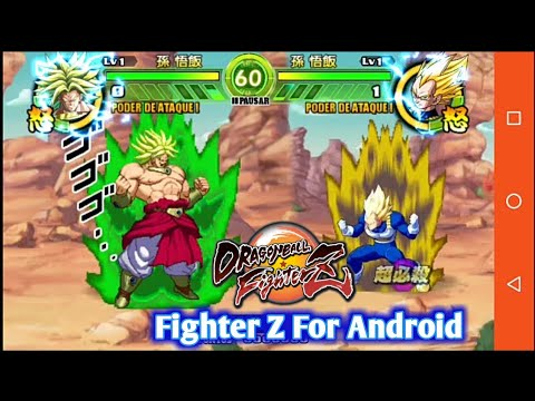 Dragon Ball Fighter Z Tap Battle Mod For Android