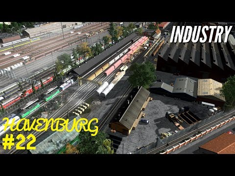 Cities Skylines: European Industry - Havenburg Showcase Part 22