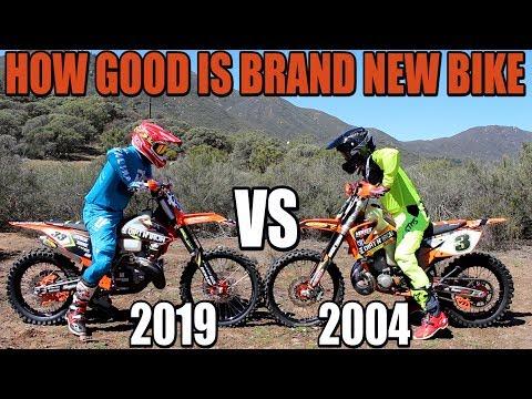 KTM 300 XC  shootout 2004 vs 2019! - Do you need brand new bike?