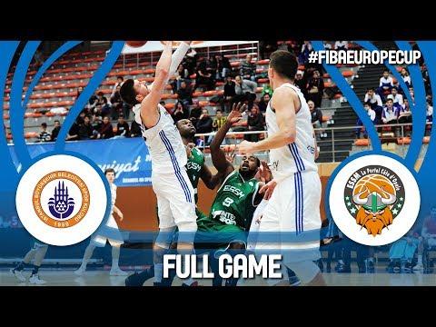 Istanbul BBSK (TUR) v ESSM Le Portel (FRA) - Full Game - FIBA Europe Cup 2017-18