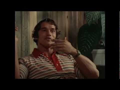 "Arnold Schwarzenegger is cumming! ""Pumping Iron"""