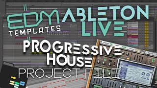 DUBVISION - VERTIGO ABLETON LIVE REMAKE TEMPLATE PROJECT ALS PROGRESSIVE HOUSE TUTORIAL
