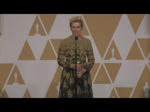 Oscars 2018: Frances McDormand Backstage FULL PRESS CONFERENCE