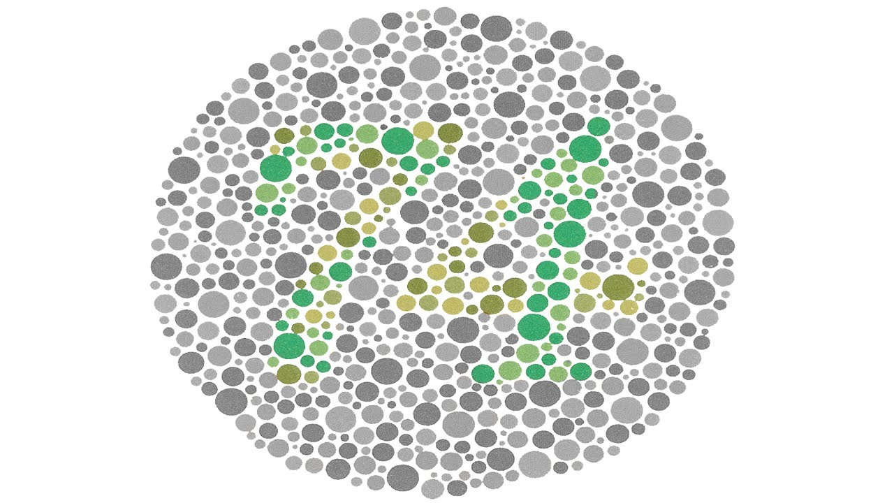 I AM COLOR BLIND... are you? color blindness test - YouTube