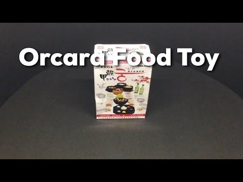 Orcara Miniature Dollhouse Food Toy