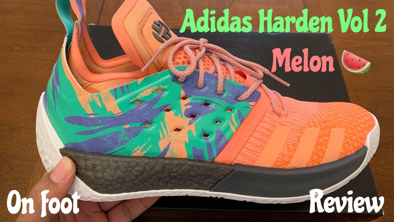 Adidas Harden Vol 2 Melon aka South