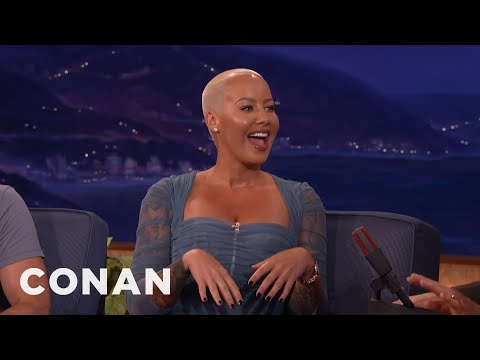 Amber Rose Is Conan's #1 Fan  - CONAN on TBS