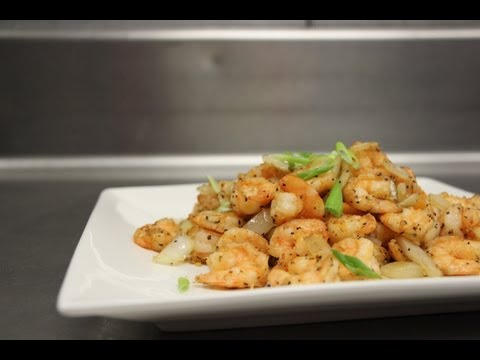 How to Make Salt and Pepper Shrimp