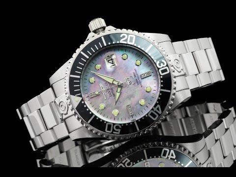 Invicta 22024 47mm Grand Diver Diamond Commemorative Edition Automatic Bracelet Watch