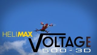 Helimax Voltage 500 3D Aerobatic Quadcopter Rx-R Video